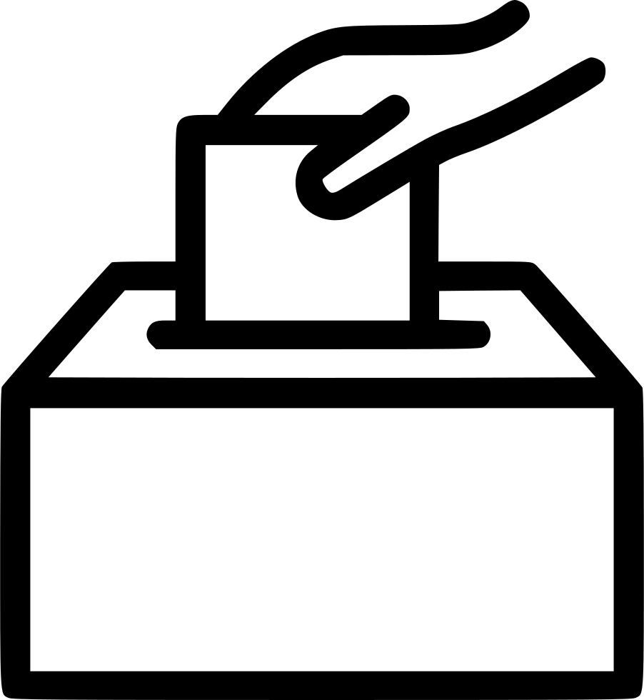 Free icons png download. Vote ticket paper voting