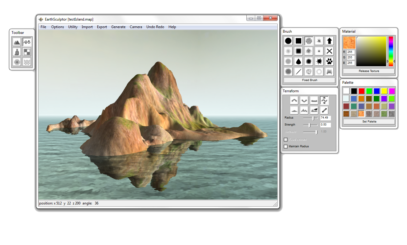 Free image editor png. Earthsculptor terrain is a