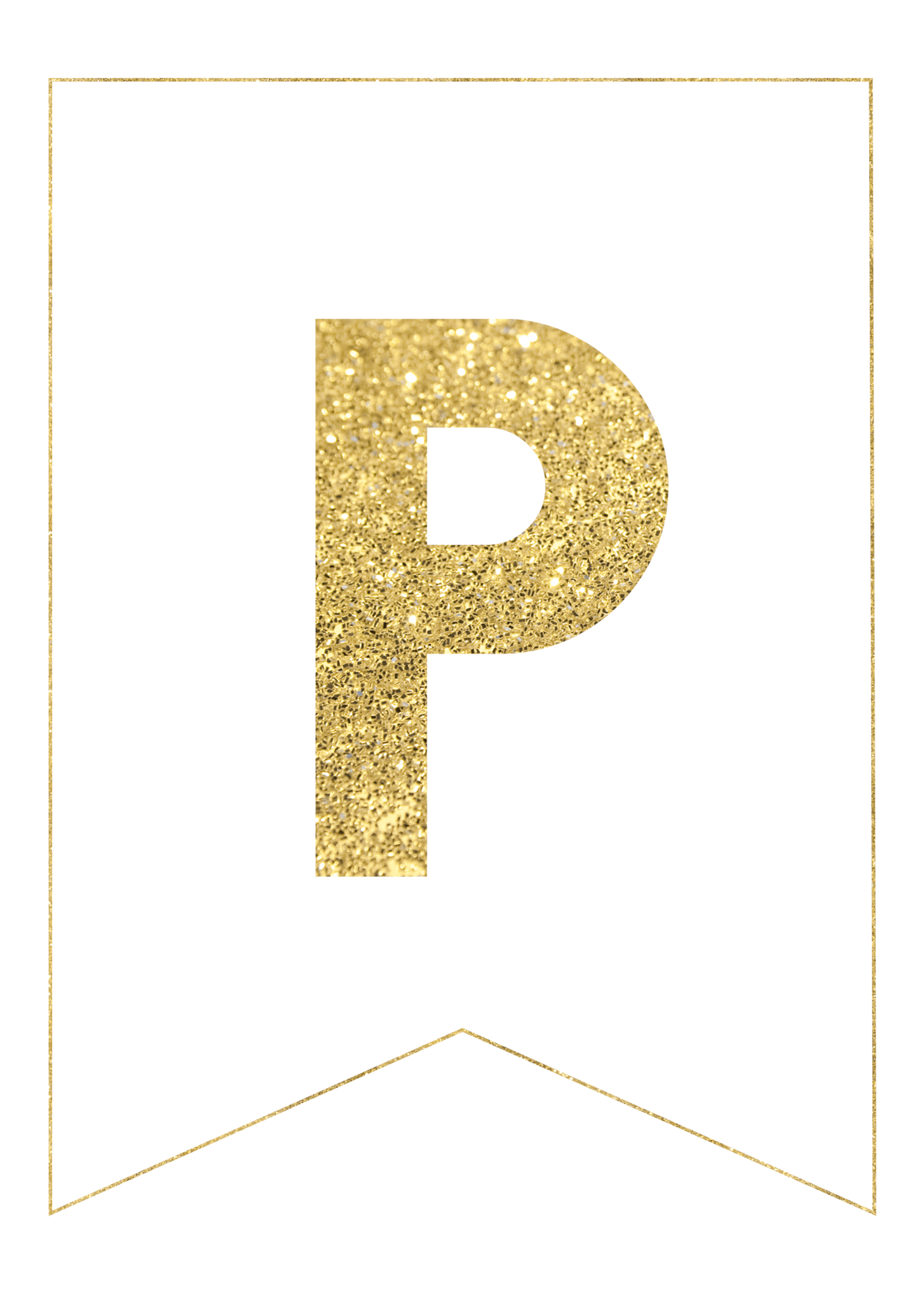gold glitter letters png