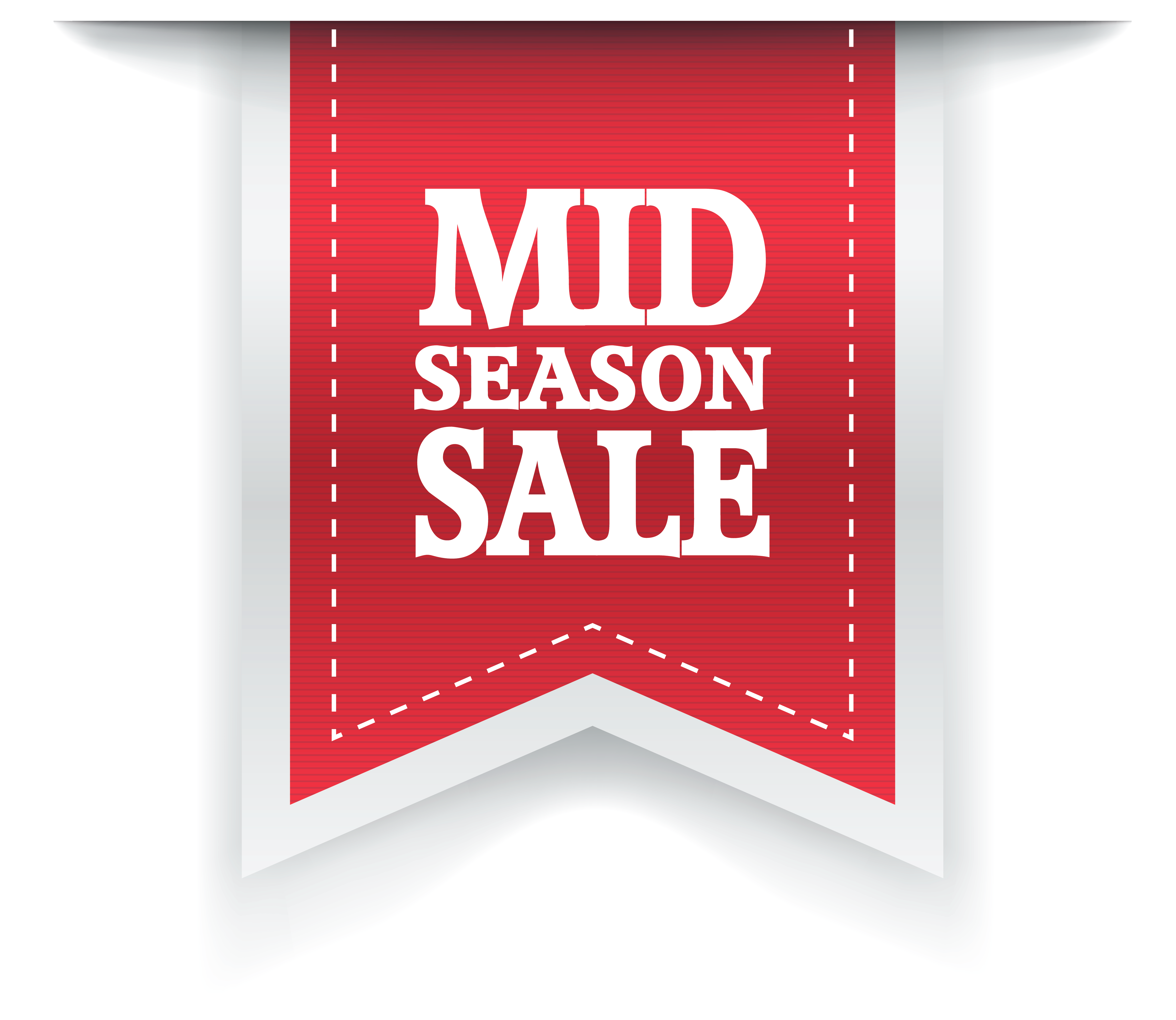 Free label png. Mid season sale clipart