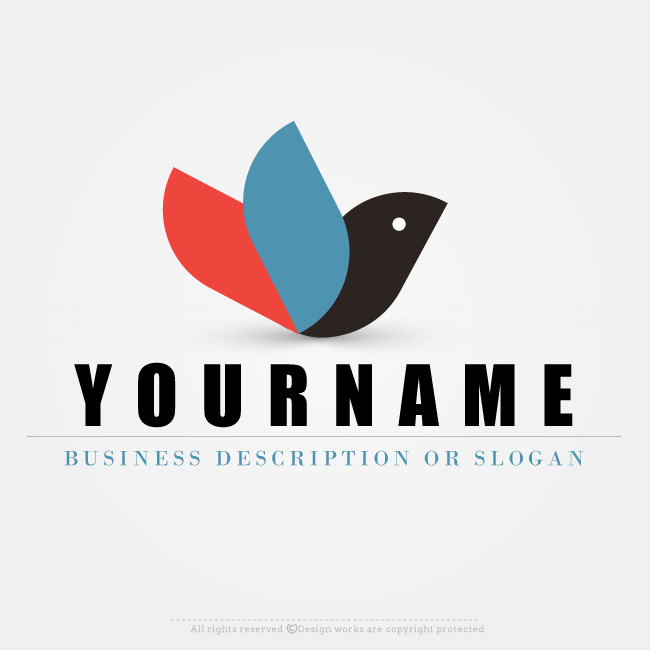 Free logo creator png. Maker ready made dove