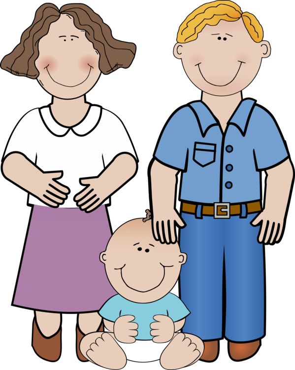 Parent clipart wife. Child infant mother father