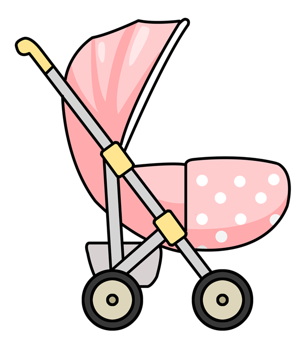 Crib drawing animated. Free stroller cliparts download