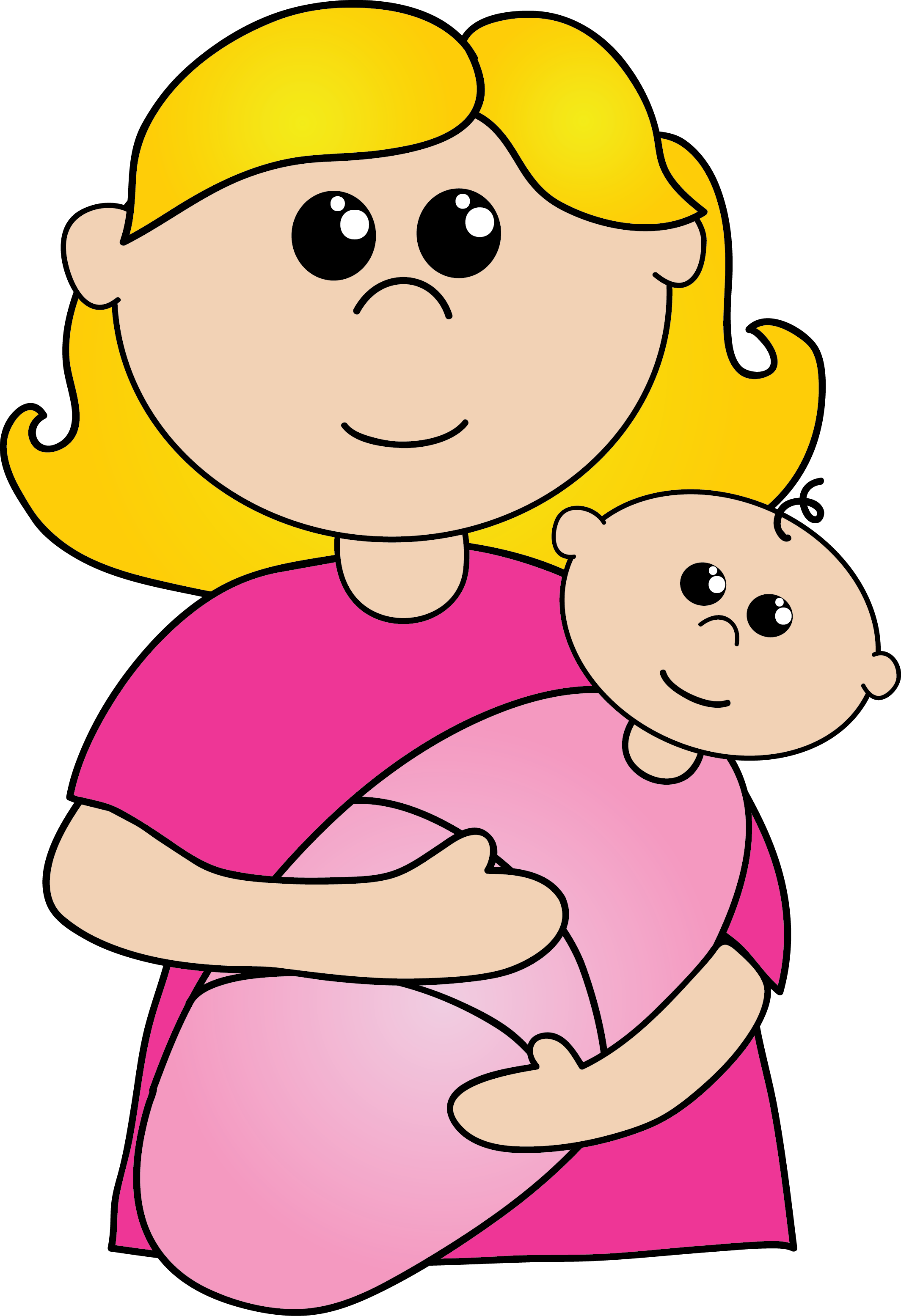 Free mothers clipart. Pictures clip art drawing