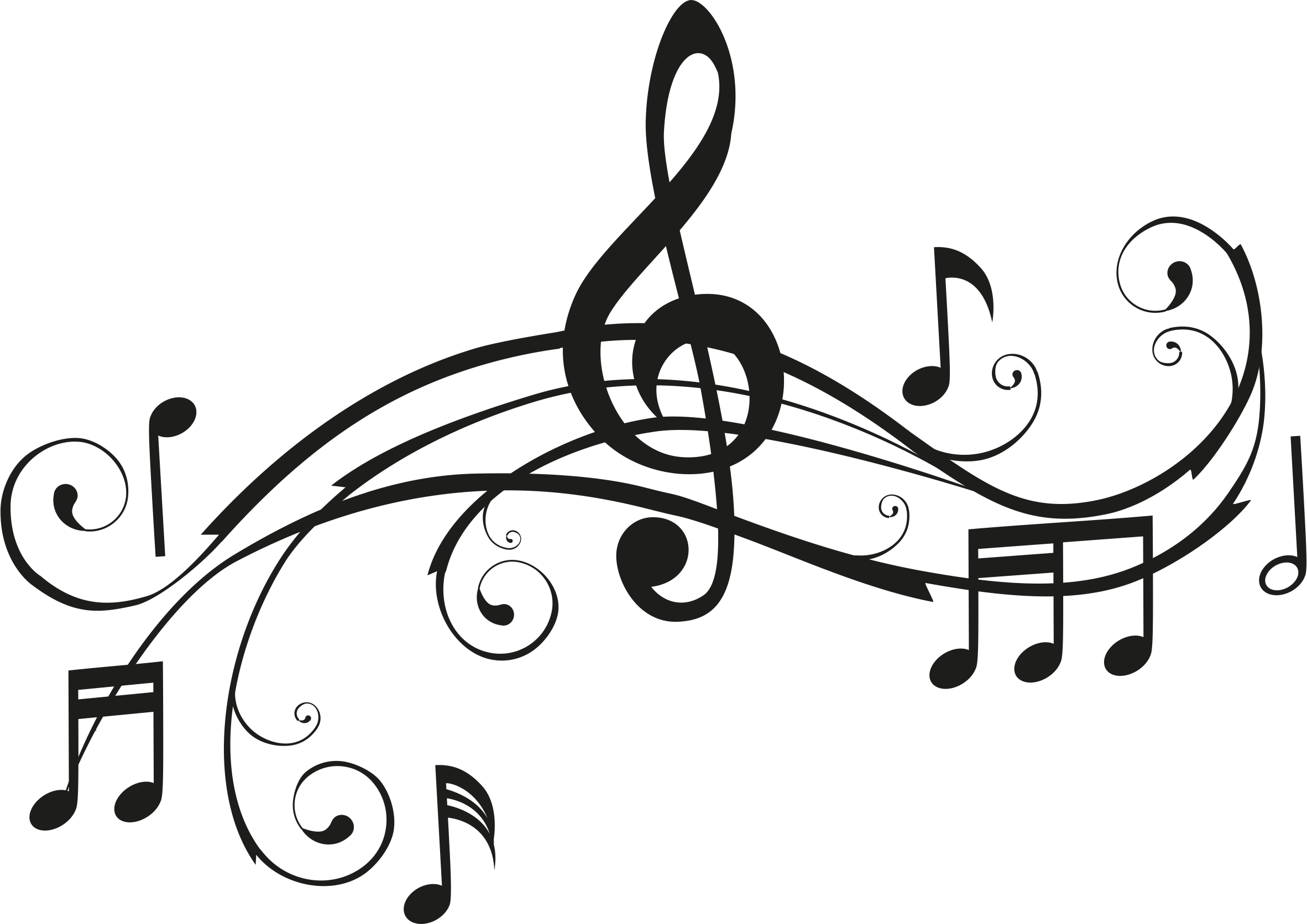 Free music note png. Images musical notes growth