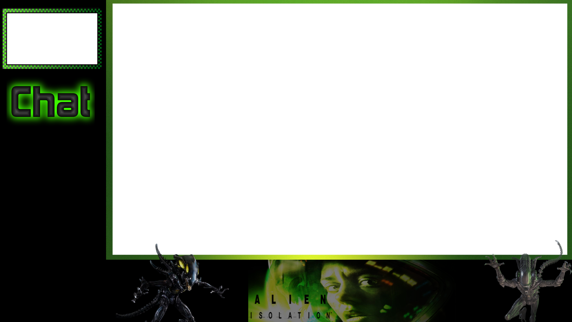 Free photo png frames overlayment. Alien isolation twitch overlay