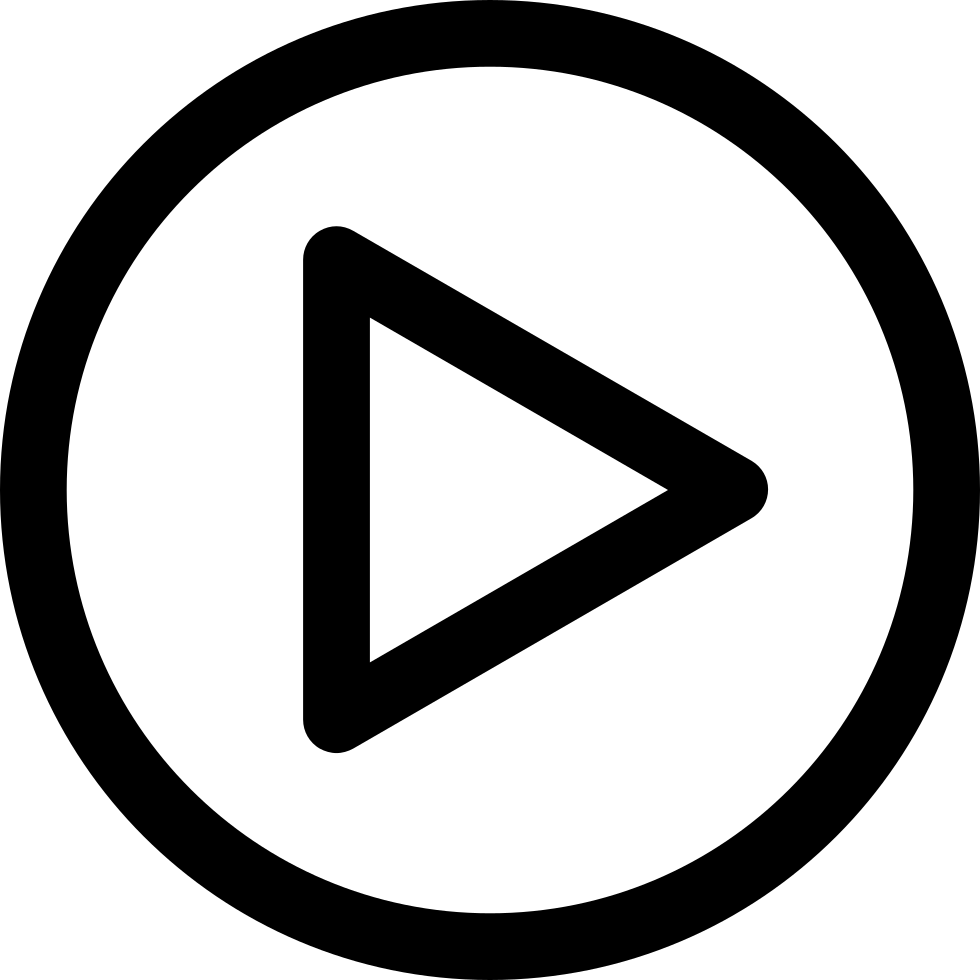 Music player png. Multimedia play button svg
