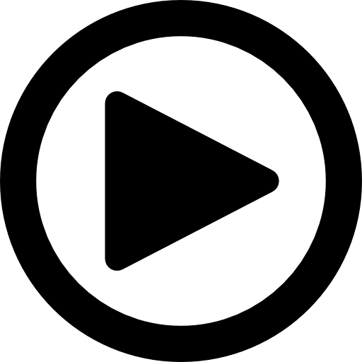 Free play button png. Round arrows icons icon