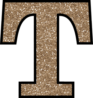Free png bling alphabet. Glitter without the glue