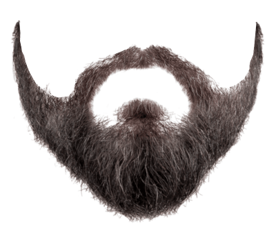 Full face beard images. Free png editor transparent background clipart