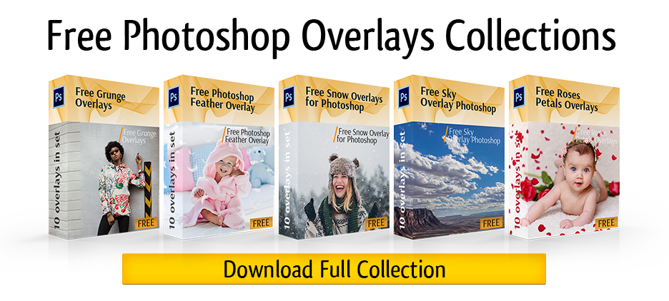 Png pack for photoshop. Download free overlays collection