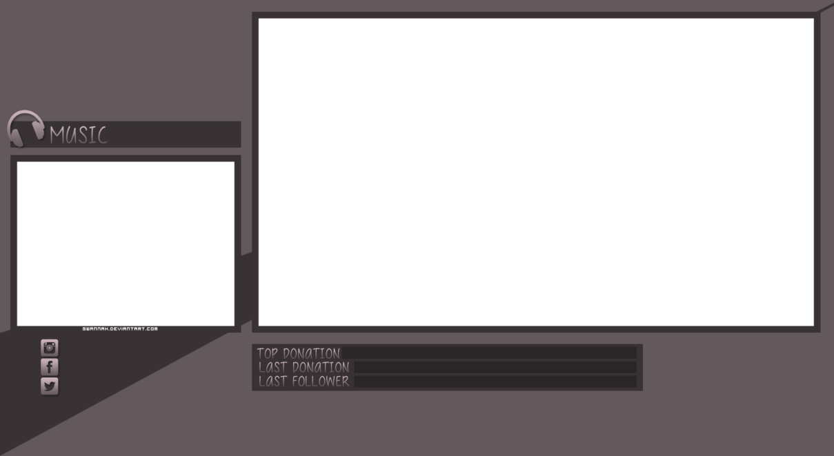 Free png overlays. Twitch overlay by gwannah