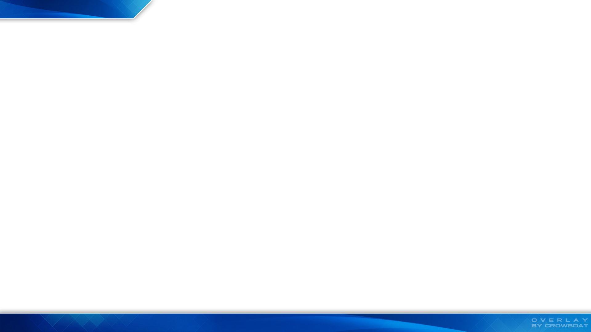 Twitch overlay png. Free minimal design blue