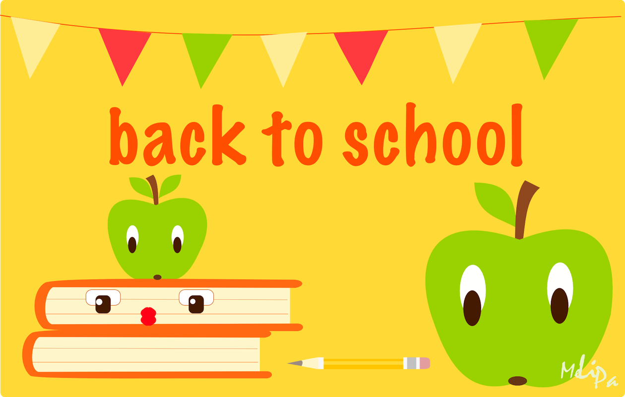 Free printable clipart back to school. Iii card and scrap