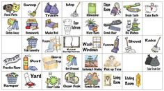 Free printable clipart household chore. Pictures home chores border