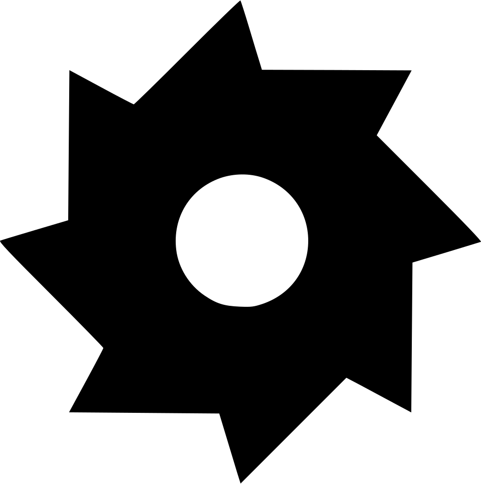 Svg icon download onlinewebfonts. Free saw blade png image black and white clip free download