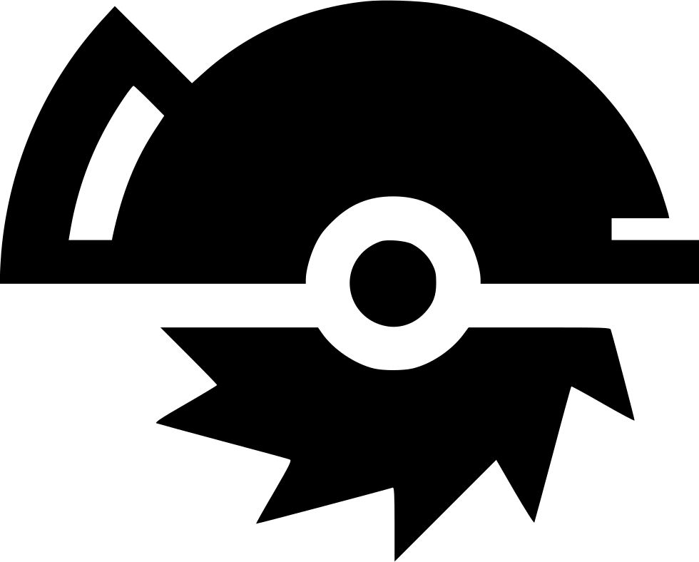 Circular svg icon download. Free saw blade png image black and white banner freeuse stock