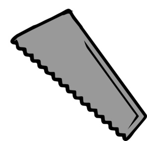 Plain clip art at. Free saw blade png image black and white picture library