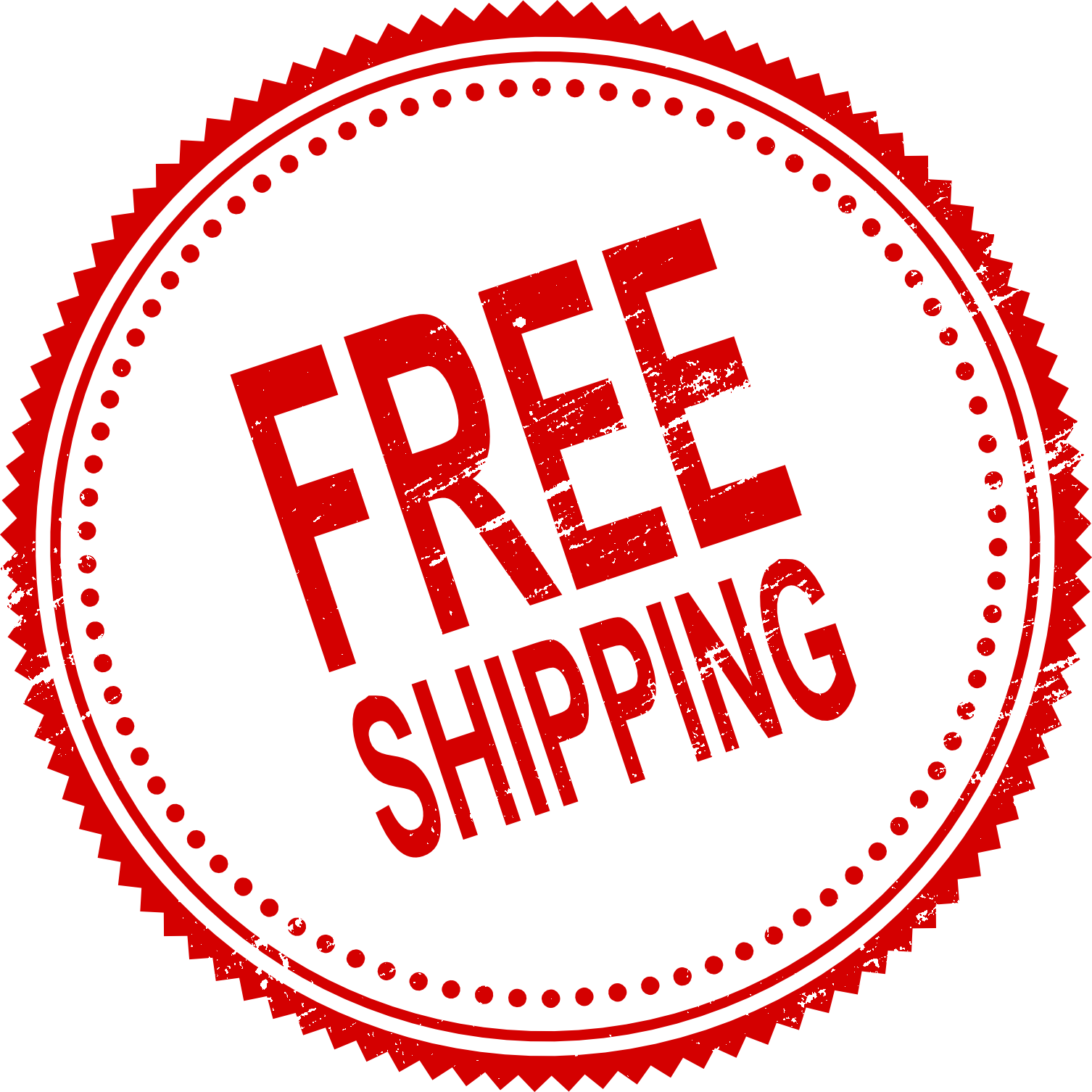 Free shipping logo png. Stamp vector transparent