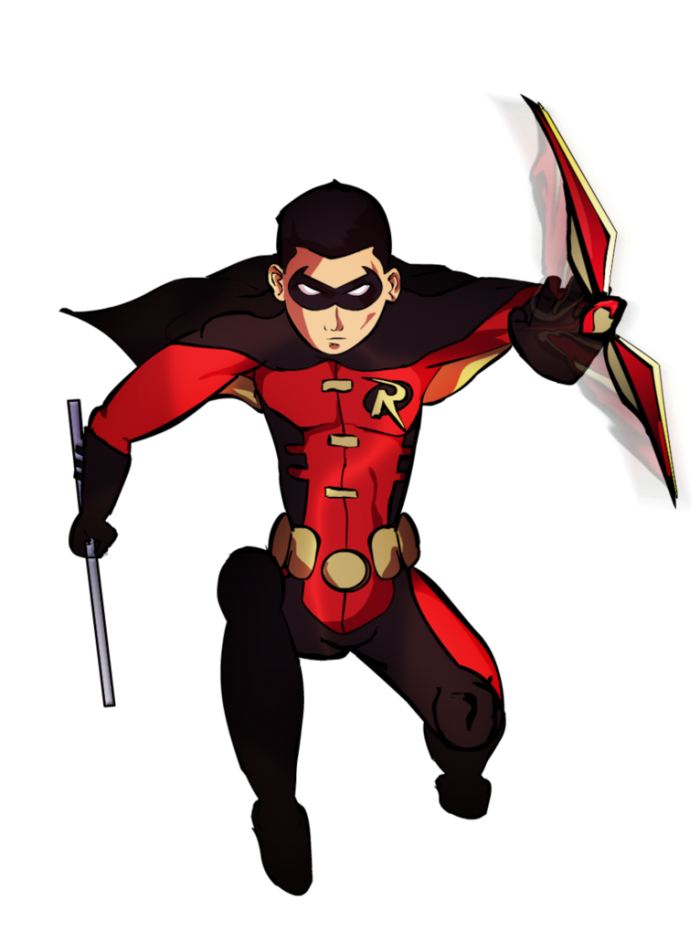 Superhero free download png. Robin vector animated banner royalty free