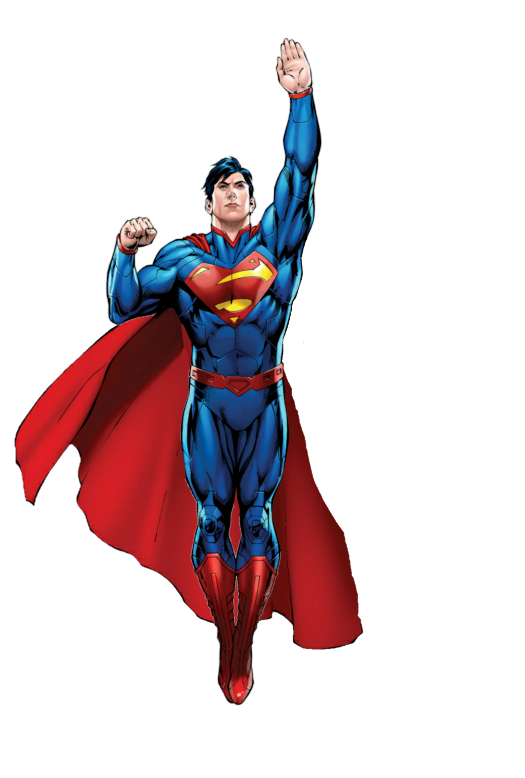 Transparent comic superman