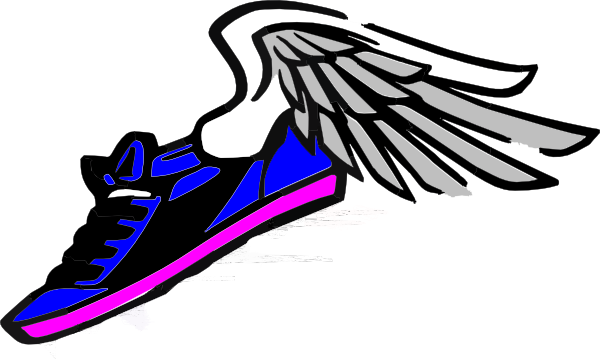 Clipart running shoe png. Nike shoes at getdrawings