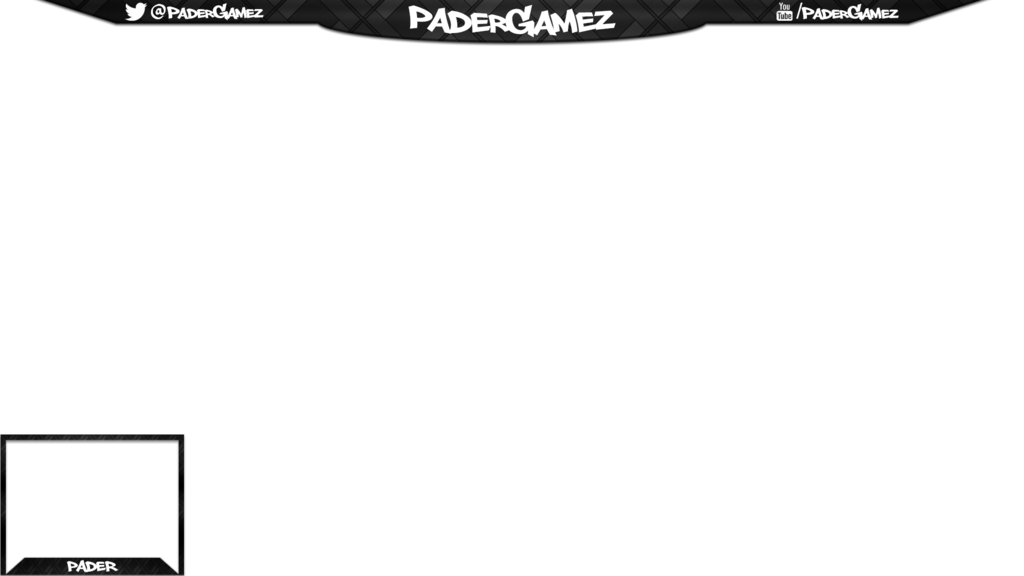 Free twitch overlay png. Padergamez by krymepays on