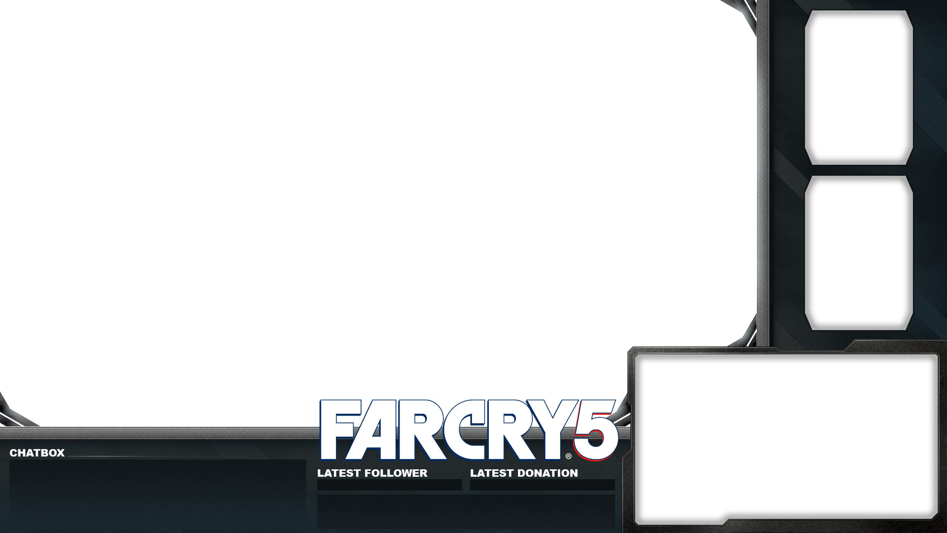 Free twitch overlay png. Farcry for streaming on