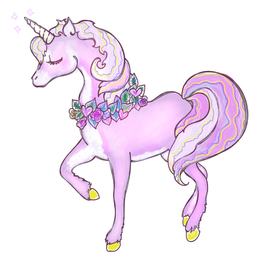 Free to use transparent. Kawaii unicorn png banner freeuse library
