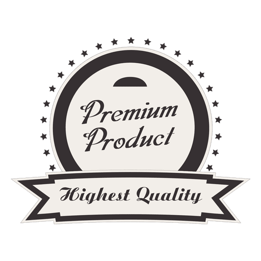 Premium product round svg. Free vintage logo badge clipart png transparent clip royalty free stock