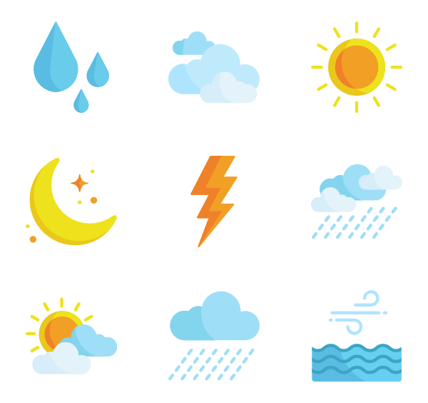 Weather vector.  icon packs svg png freeuse stock