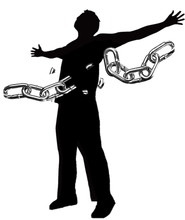 Freedom clipart broken chain. Sun of righteousness ministries