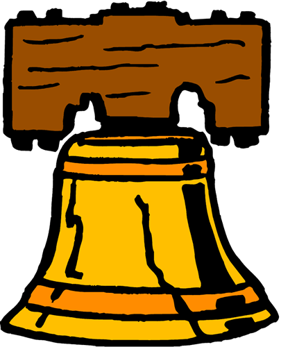 Bell clipart table. Free freedom cliparts download
