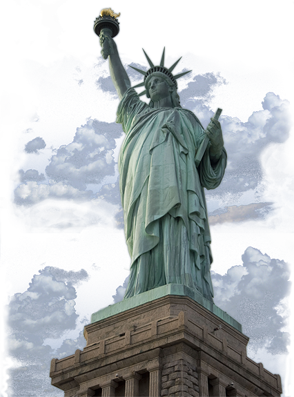 Freedom statue png. Liberty st century inc