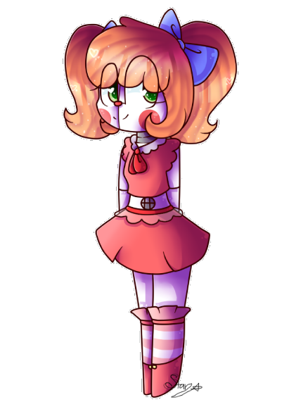 Freelance drawing sister. Fnaf location baby by