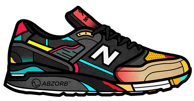 Freelance drawing sneaker. Showcase and discover creative