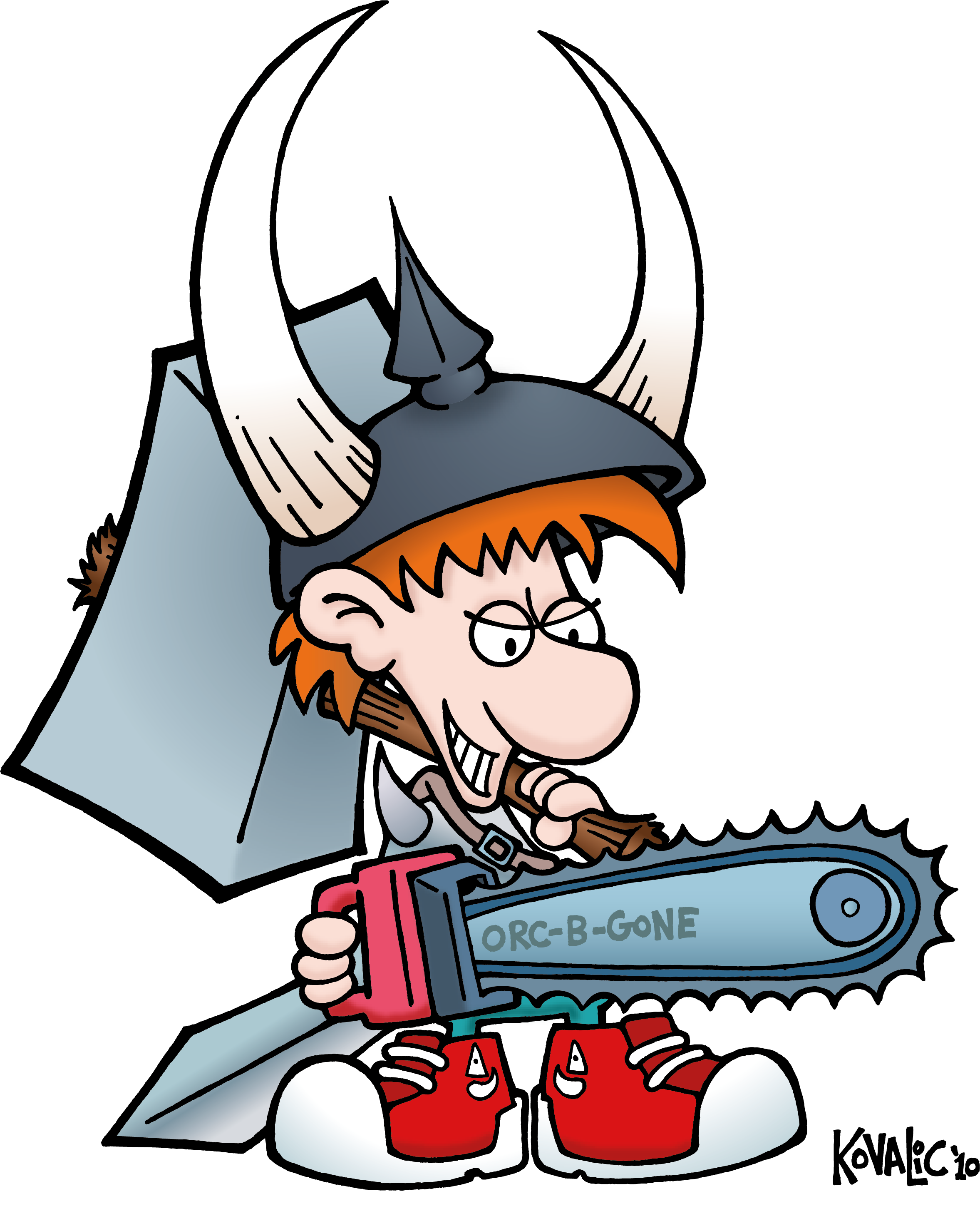 Freelance drawing toon. Munchkin to be adapted