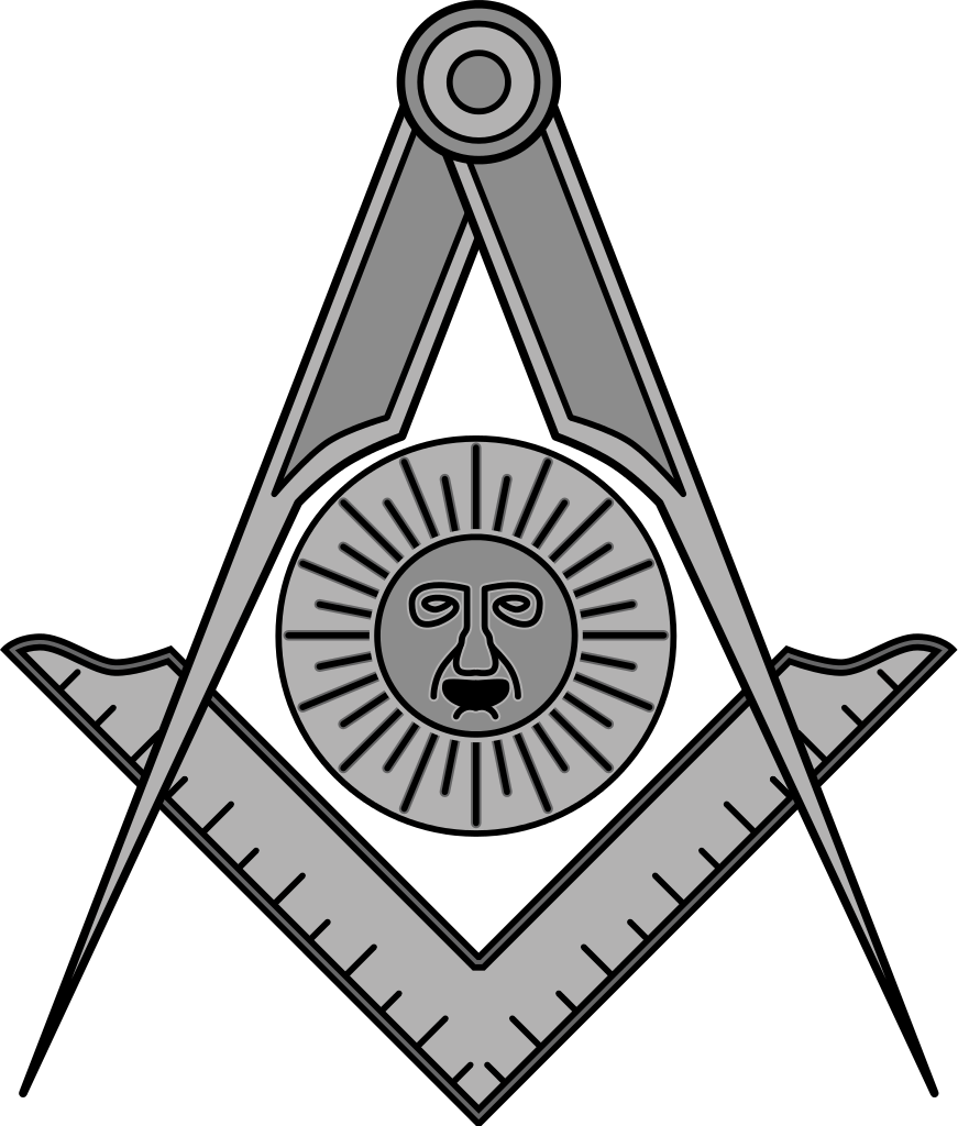 Freemason vector svg. File masonic seniordeacon wikipedia