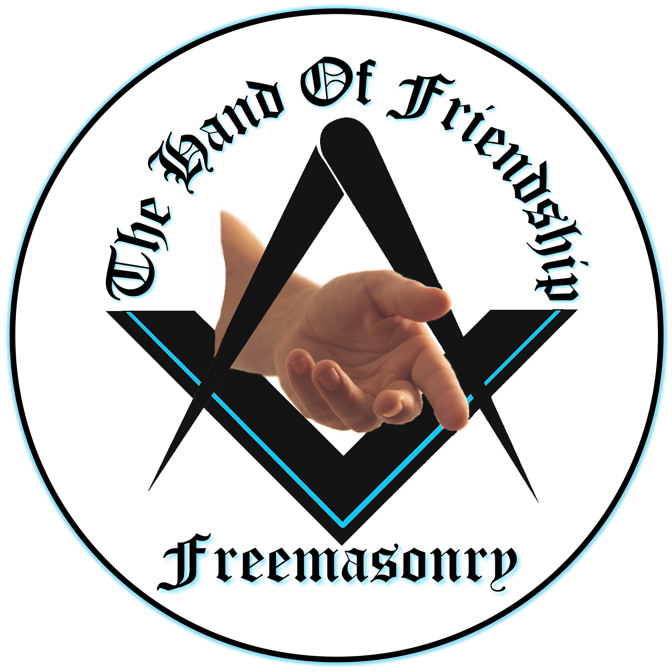Freemason vector svg. Freemasonry the hand of