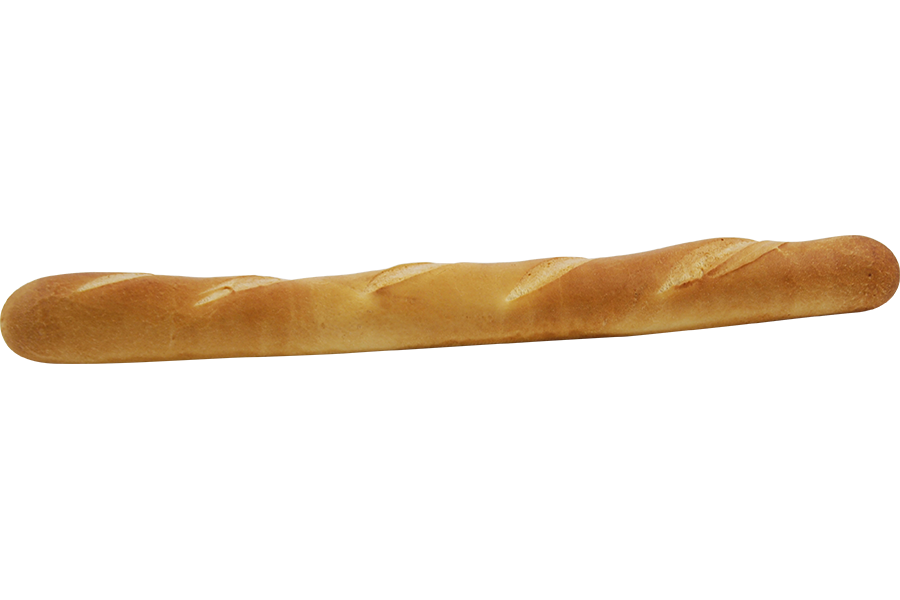 Transparent baguette. Francaise crue bridor inc