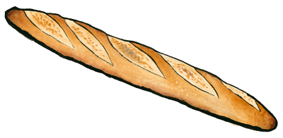 Baker drawing bread french. Product zingerman s bakehouse