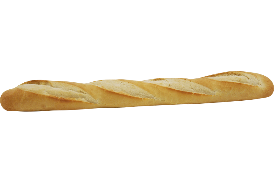 Transparent baguette. French recipesbnb wellington