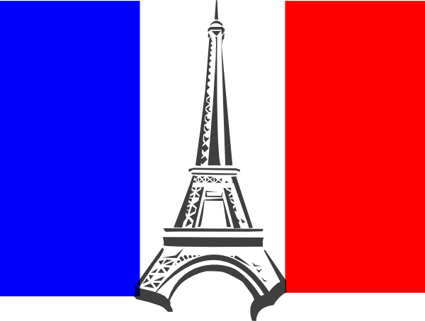 French clipart. Flag france clip art
