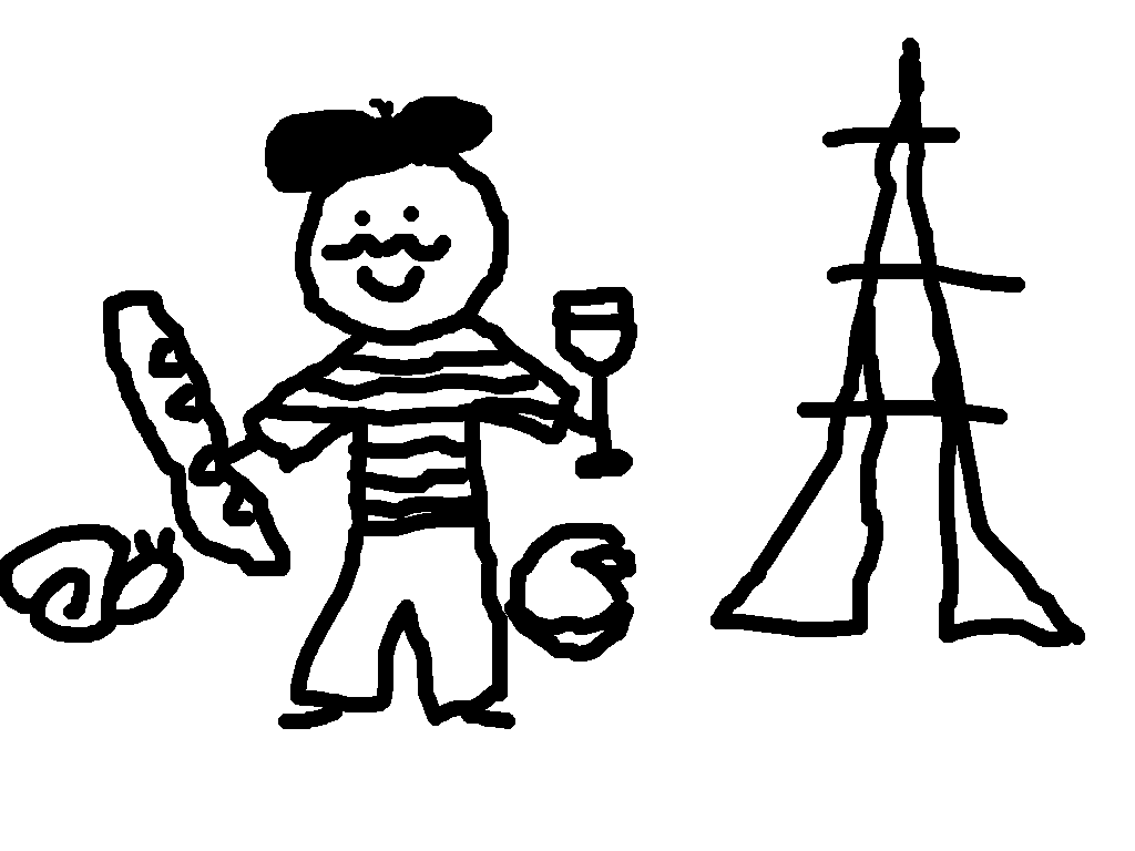 French clipart drawing. France at getdrawings com