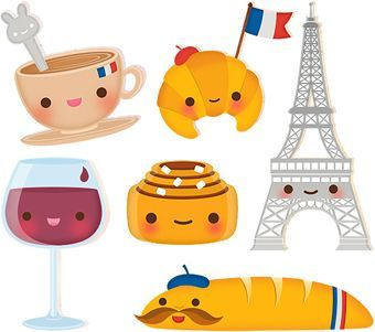 French clipart food france. Cute little themed clips