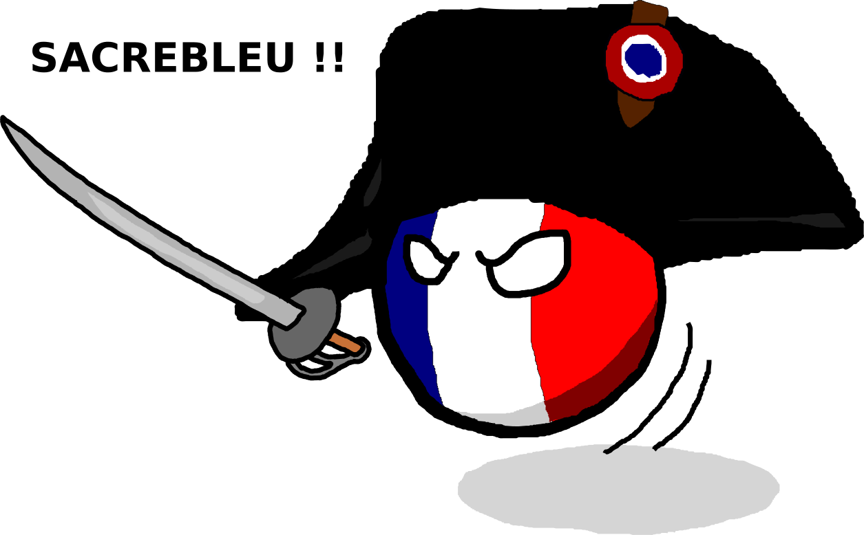 Continental clip french. First empireball polandball wiki