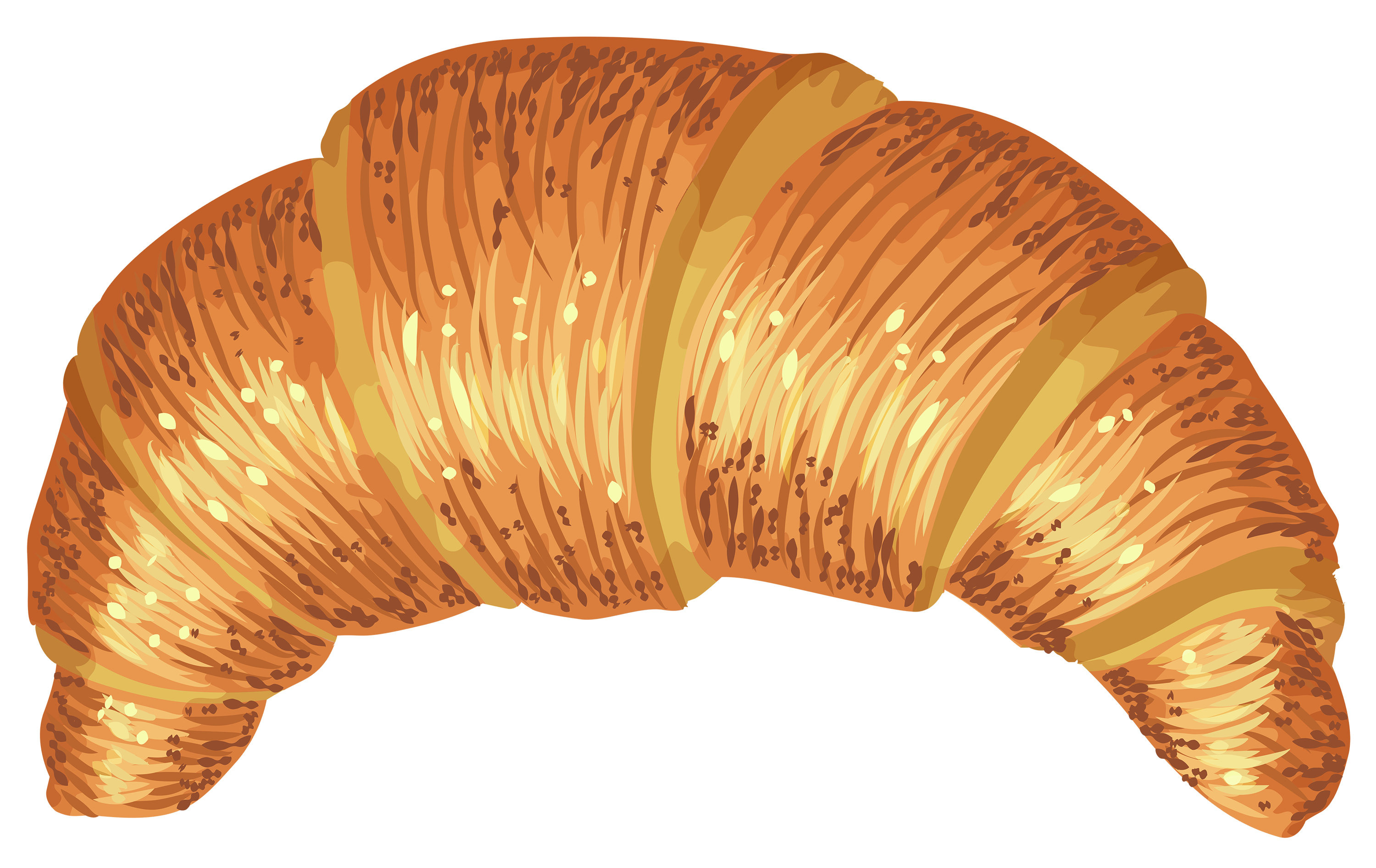 french clipart french croissant