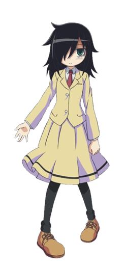 Morning drawing anime. Tomoko kuroki watamote pinterest