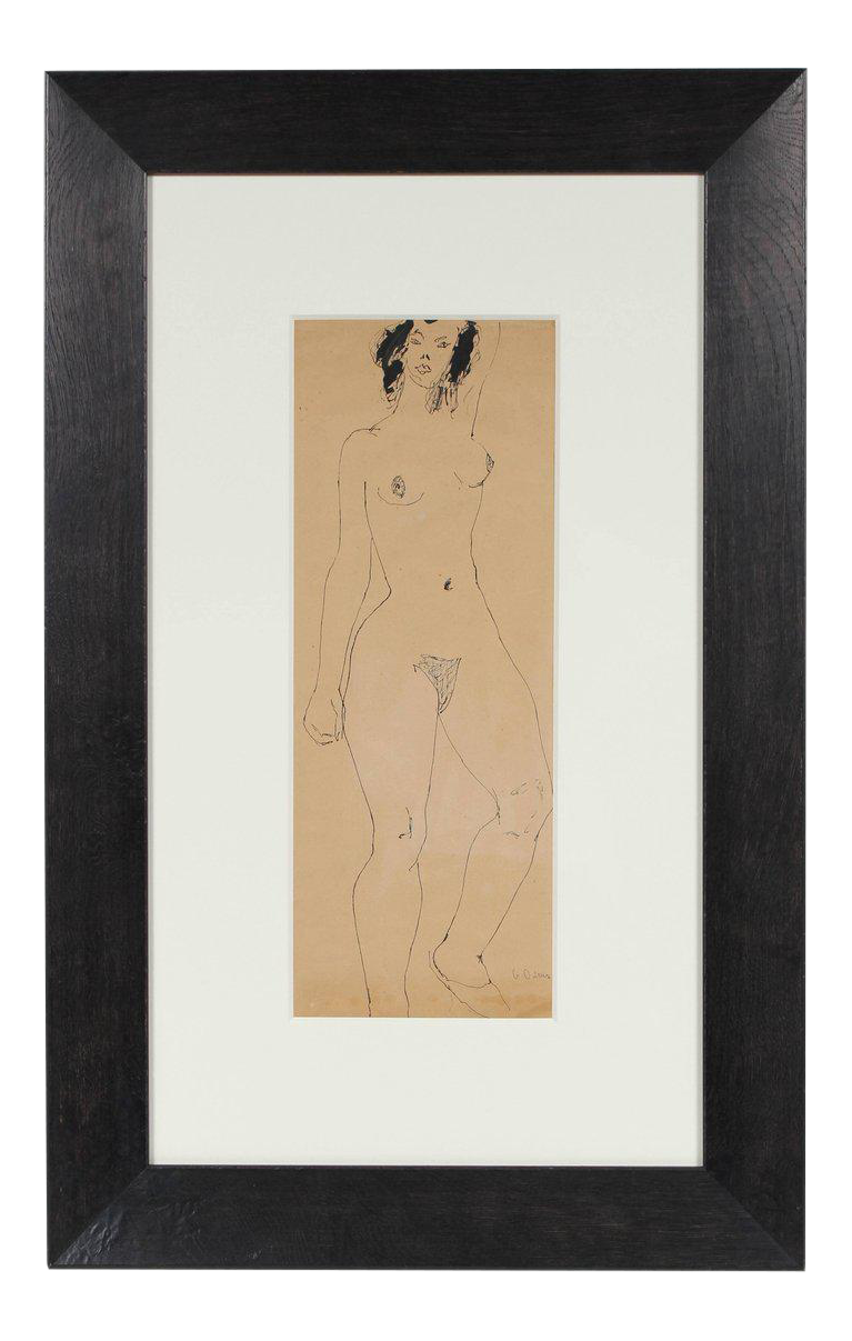 French drawing ink. Sophisticated georgette london owens