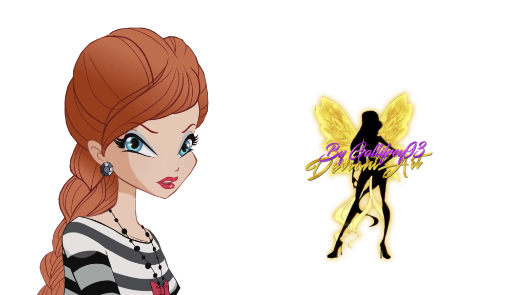 French drawing style. World of winx bloom
